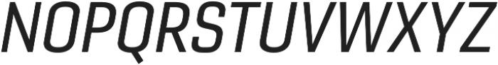 Gineso Norm Medium Italic otf (500) Font UPPERCASE