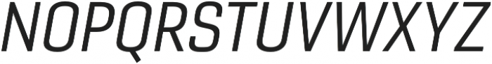 Gineso Norm Regular Italic otf (400) Font UPPERCASE