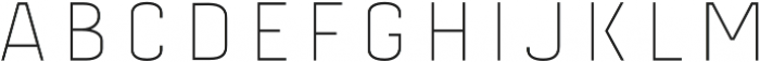 Gineso Titling Cln Black otf (900) Font LOWERCASE