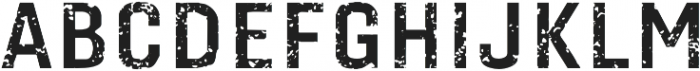 Gineso Titling Rough Bold otf (700) Font UPPERCASE