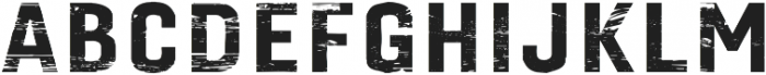 Gineso Titling Wood Black otf (900) Font UPPERCASE
