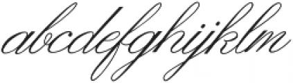 Ginger Hills Classic otf (400) Font LOWERCASE