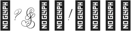 Ginger Hills Rough otf (400) Font OTHER CHARS