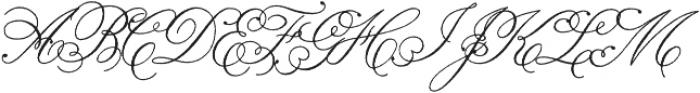Ginger Hills Rough otf (400) Font UPPERCASE