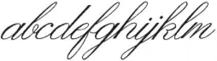 Ginger Hills Rough otf (400) Font LOWERCASE