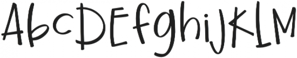 Ginger and Kale otf (400) Font UPPERCASE
