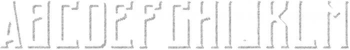 GingerGin RoughShadowFX otf (400) Font UPPERCASE