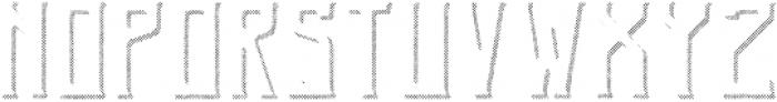 GingerGin RoughShadowFX otf (400) Font LOWERCASE