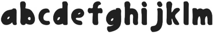 Gingerbread Regular otf (400) Font LOWERCASE
