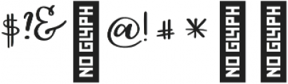 Gingerbread script otf (400) Font OTHER CHARS
