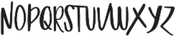 Gingerbread script otf (400) Font UPPERCASE