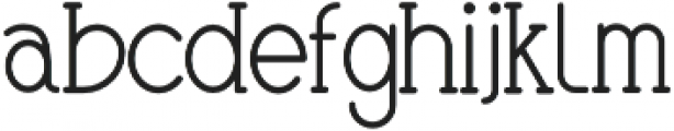 Gingerbreads otf (400) Font LOWERCASE