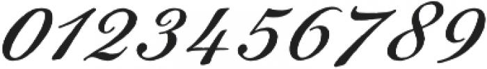 Gingertea Script otf (400) Font OTHER CHARS