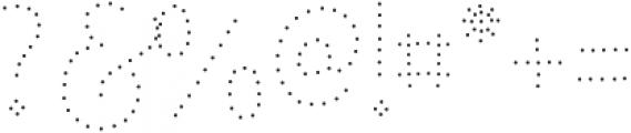 Ginusto SanAdot otf (400) Font OTHER CHARS