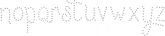 Ginusto SanAdot otf (400) Font LOWERCASE