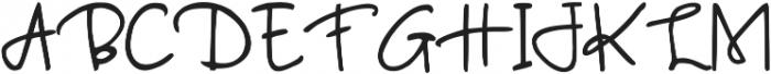 Giolia otf (400) Font UPPERCASE