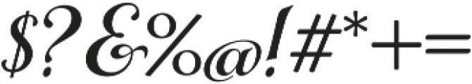 Gioviale otf (400) Font OTHER CHARS