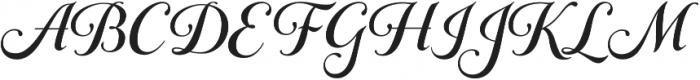 Gioviale otf (400) Font UPPERCASE