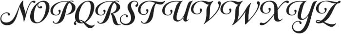 Gioviale otf (700) Font UPPERCASE