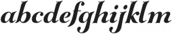 Gioviale otf (700) Font LOWERCASE