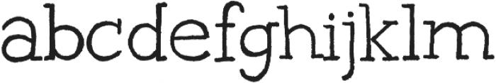 Gipsy Hill ttf (400) Font LOWERCASE