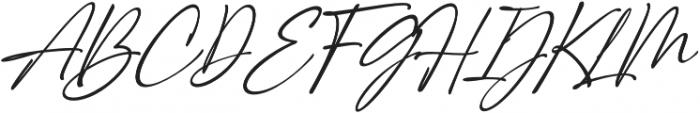 Girl Boss Script Slant Regular otf (400) Font UPPERCASE