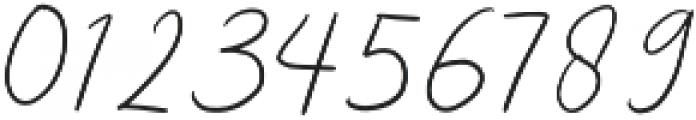 Girl Passion Regular otf (400) Font OTHER CHARS
