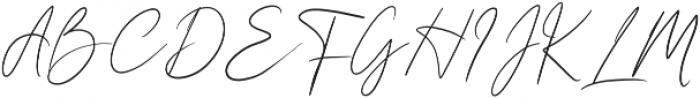 Girl Passion Regular otf (400) Font UPPERCASE