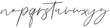 Girl Passion Regular otf (400) Font LOWERCASE