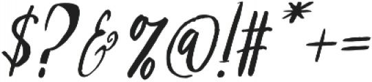 Girlboss Regular otf (400) Font OTHER CHARS