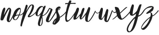 Girlboss Regular otf (400) Font LOWERCASE