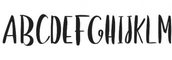 Girlboss Script Font Duo Reguler otf (400) Font UPPERCASE