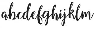 Girlboss Script Font Duo Reguler otf (400) Font LOWERCASE