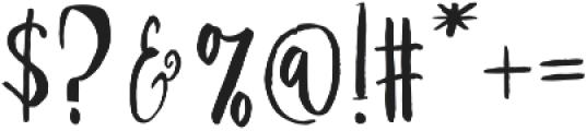 Girlboss Script Regular otf (400) Font OTHER CHARS