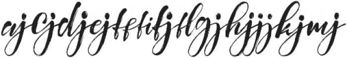 Girly Things Liga otf (100) Font LOWERCASE