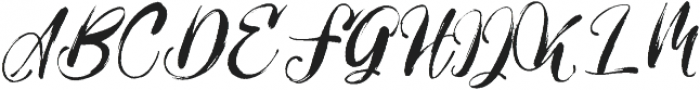 Girly Things SS1 otf (100) Font UPPERCASE