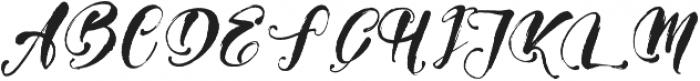 Girly Things otf (100) Font UPPERCASE