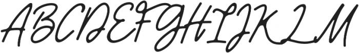 Girly otf (400) Font UPPERCASE