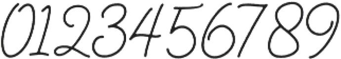 Gisellia Natural otf (400) Font OTHER CHARS