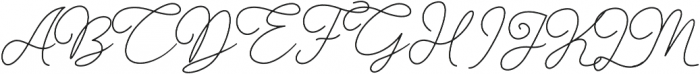 Gisellia Natural otf (400) Font UPPERCASE