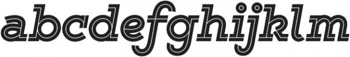 Gist Black otf (900) Font LOWERCASE