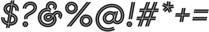 Gist Bold otf (700) Font OTHER CHARS