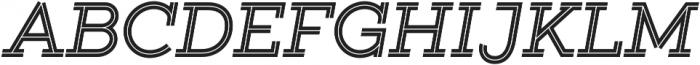 Gist Bold otf (700) Font UPPERCASE