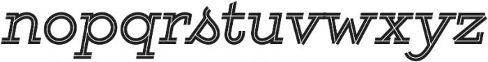 Gist Bold otf (700) Font LOWERCASE
