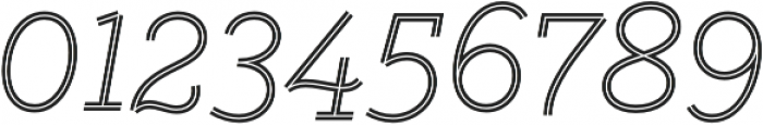 Gist Light otf (300) Font OTHER CHARS