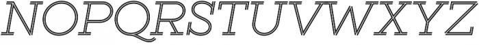Gist Light otf (300) Font UPPERCASE