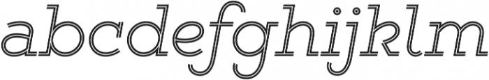 Gist Light otf (300) Font LOWERCASE
