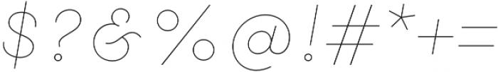 Gist Line Black otf (900) Font OTHER CHARS