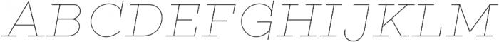 Gist Line Black otf (900) Font UPPERCASE