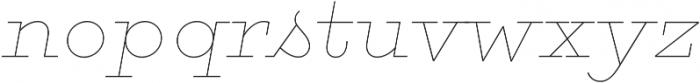 Gist Line Black otf (900) Font LOWERCASE